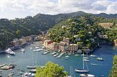 World famous Portofino village