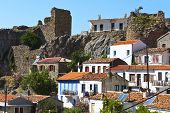 Samothraki island in Greece