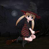 Little Hallowen Witch #02