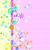 Colorful Flowers Design