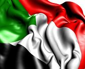 stock photo of north sudan  - Flag of Sudan - JPG
