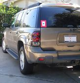 Military Blue Star Mother Service Sticker Suv