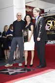 LOS ANGELES - MAY 4: Larry David, Julia Louis-Dreyfus, Alan Horn as Julia Louis-Dreyfus is honored w