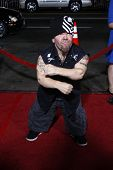 LOS ANGELES - APR 10:  Puppet, leader of Half Pint Brawlers at the Jackass 3D premiere held at Graum