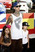 LOS ANGELES - JUN 18:  Travis Barker arriving at the