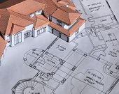 Model Home And Blueprints