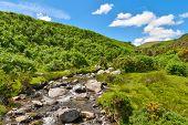 Lake District mountain stream