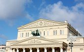 Facade Of Bolshoi Theatre