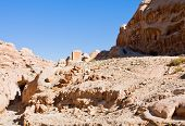 Dried Riverbed Of Wadi Musa In Siq, Petra