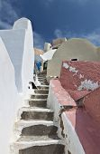 Oia village of Santorini island in Greece