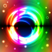 Magic circles over spectral background
