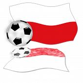 Football Flag Poland
