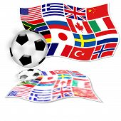 Football Flags Countries