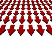 Downward Trend Business Concept Background