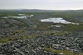 Lough Gealain and Limestone Pavement
