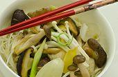 wok mushroom stir fry