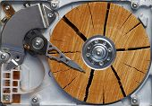 Very Old Hard Disc