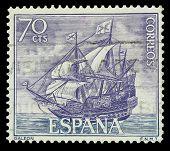 Selo galeão espanhol