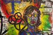 Graffiti On The Lennon Wall