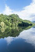The Serchio River (lucca, Tuscany)