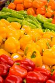 Peppers At The Grocer's