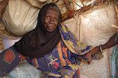 Elderly Woman In Darfur
