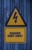 Keep away high voltage