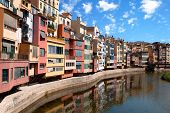 Girona City In Spain
