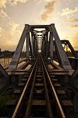 Railway Bridge over the River Nakornchaisri