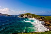 Falésias na Península de Dingle, Irlanda