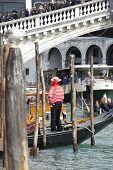 Gondoliere, Venedig