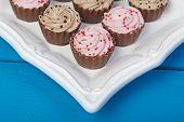 Elegant Cupcake Chocolates