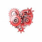 Perfect Work Gear Heart