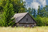 Rural Landscape With Barn