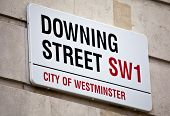 in der Londoner Downing street