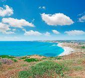 Blue Sky In San Giovanni Beach