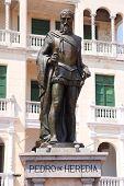 Statue Of Pedro De Heredia