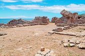 Ruins And Sea In Tharros
