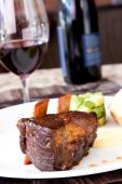 Braised Cumbrae's Short Rib Served With Wine