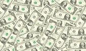 One Dollar Bills Background