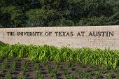Entrance Sign to the campus of the University of Texas
