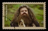 UNITED STATES - CIRCA 2013: postage stamp printed in USA showing an image of Rubeus Hagrid a Harry P