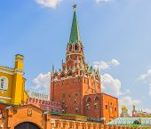 stock photo of trinity  - Moscow Kremlin Troitskaya  - JPG