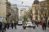 St. Patrick's Day Parade, Bucharest, Romania