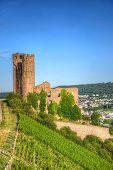 Ancient German Fortress, Ruedesheim, Rhein-main-pfalz, Germany