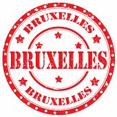 Brussels-stamp