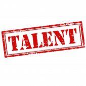 Talent-stamp