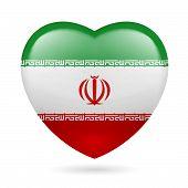 Heart icon of Iran