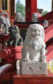 China Lion Marble Step