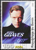 Toby Stephens Stamp